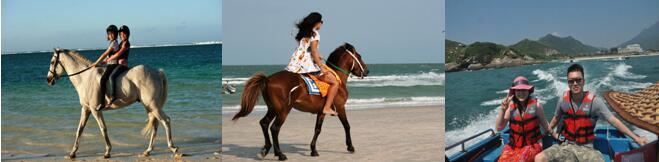 成考学生活动骑马