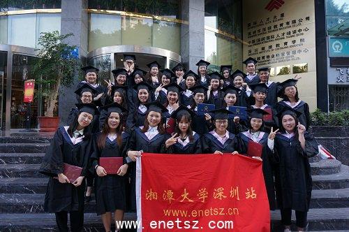 深圳在职学习中心2019年各专业毕业生留影