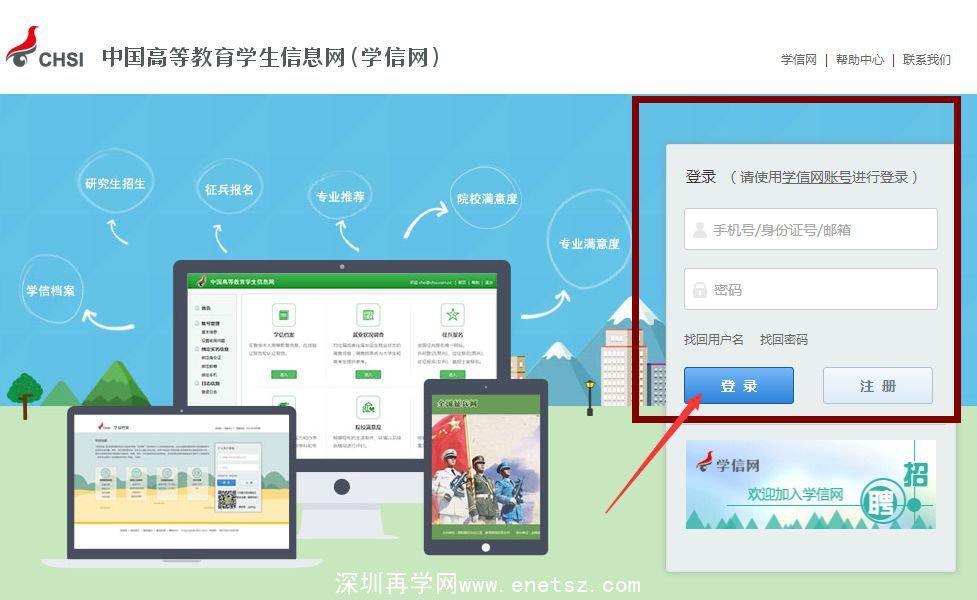 深圳成考-学历验证