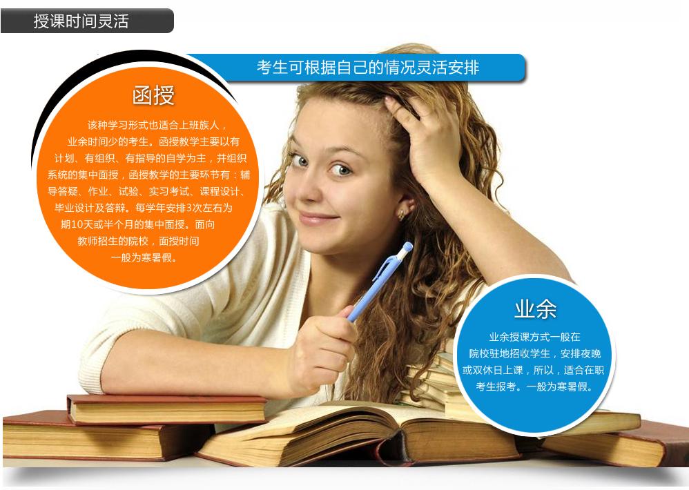 成人高考上课时间