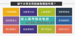 深圳成人高考专升本招生